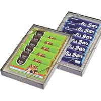 Six 1 3/4 oz. Wrapper Bar Gift Boxes