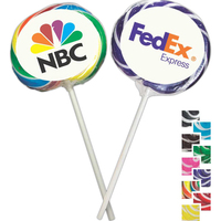 Two-Tone Whirly Pop Lollipop