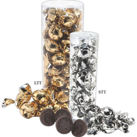 Twist Wrapped Decadent Truffle Gift Tube
