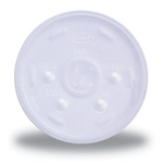 Foam Cup Straw Slotted Lid