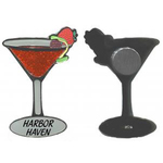 Cocktail Glass Magnet