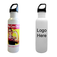 26oz Breast Cancer Awareness Water Bottle