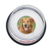 Large Pet Food Or Water Bowl With Photo Insert