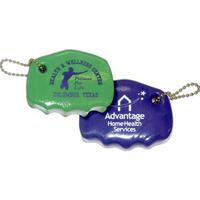 Premium Vinyl Coated Hand Exerciser with Keychain