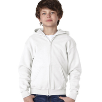 Gildan (R) Heavy Blend (TM) Youth Full-Zip Hooded Sweatshirt