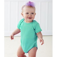 Rabbit Skins Infant Fine Jersey Lap-Shoulder Bodysuit