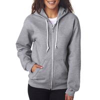 Ladies' Full-Zip Hooded Fleece