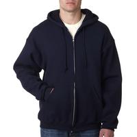 Adult Supercotton (TM) Full-Zip Hooded Sweatshirt