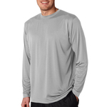 Adult Cool & Dry Sport Long-Sleeve Performance Interlock Tee