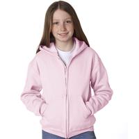 Youth NuBlend (R) Full-Zip Hooded Sweatshirt
