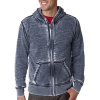 Adult Vintage Zen Full-Zip Hooded Fleece