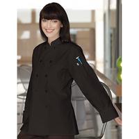 Napa Classic Black Chef Coat- Ladies
