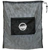 Jumbo mesh drawstring laundry sport bag