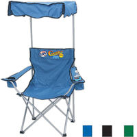 Camping/folding chair with canopy