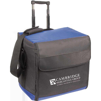 Jumbo collapsible rolling cooler