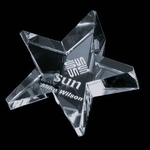 Slanted Star Paperweight