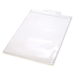 """Blank Stock Mylar Pouch For 2 1/4"""" x 3 3/4"""" Insert Card"""