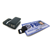 Government Clip for Identification Cards Without Slots / Hol