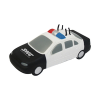 Police car shaped stress reliever