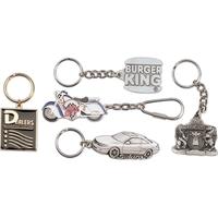 Pewter key tag