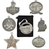 Custom pewter ornaments