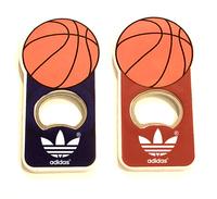 Basket ball shape magnetic bottle opener