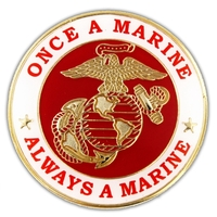 Military - U.S. Marine Corps Once a Marine Pin