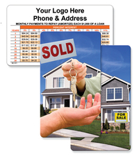 Lenticular mortgage calculator with Real Estate - Imprint