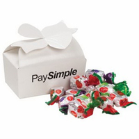 Large Bow Gift Box / Fruit Flavored Hard Candies (14)