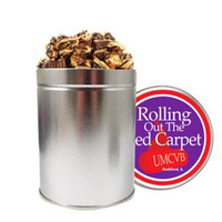 Quart Round Tin / Peanut Butter Cup Popcorn