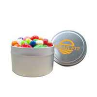 1/8 Quart Round Tin / Jelly Belly® Jelly Beans