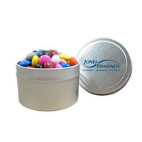 1/8 Quart Round Tin / Chocolate Buttons