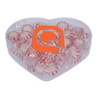 Heart Acrylic Show Piece w/ Starlite Breath Mints