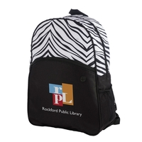 Sahara Zebra Print Backpack