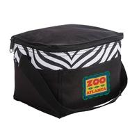 Sahara Zebra Print Cooler Bag