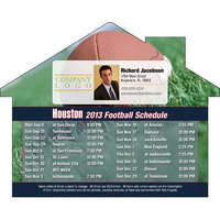 Vinyl Magnet Schedule House Shaped Magnet