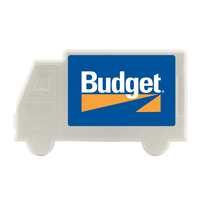 Truck Plastic Mint Card Dispenser with Sugar Free Mints
