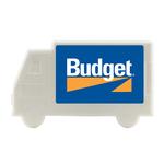 Truck Plastic Mint Card Dispenser with Sugar Free Mints