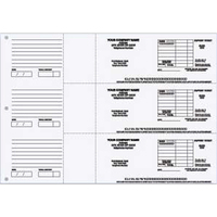 3-Ring Binder Deposit Tickets