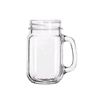 Glass Mason Jar Cup