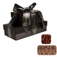 The Cosmopolitan Gift Box Tower - Bakery Items and Almonds