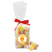 Candy Covered Chocolate Beads in French bottom bag