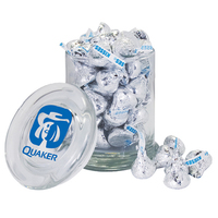 Gourmet Candy Jar filled with Chocolate Buttons - Imprinted