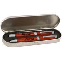 Classic platinum rosewood pen gift set