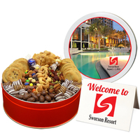 Deluxe Chocolate & Cookie Assortment - Large Tin