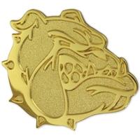Bulldog School Mascot Chenille Pin