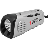 Emergency Flashlight Radio