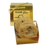 Gourmet Chocolate Chip Cookies - Ballotin Box
