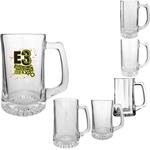 Clear Glass Sport Mugs