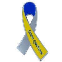 Down Syndrome Awareness Ribbon Pin